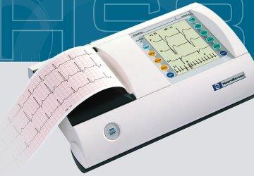 Electrocardi�grafo 3 Canales + Ritmo 12 Derivaciones Simult�neas Innomed HeartScreen 80G-L AutoDiagn�stico