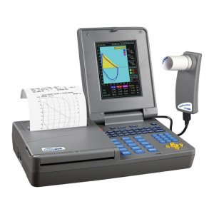 Espirometro de Mesa MIR Spirolab 3 c/Impresora y SpO2 Opcional