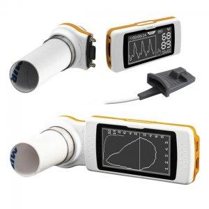 Espirometro + Oximetro Portátil MIR Spirodoc