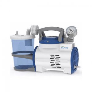 Aspirador a Diafragma de 1 litro Silfab N33V-A c/Vacuometro