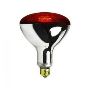 Lámpara Bulbo rayos infrarrojos