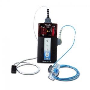 Oxicapnómetro Oxicapnografo Oximetro + Detector de CO2 Nonin Serie 9840