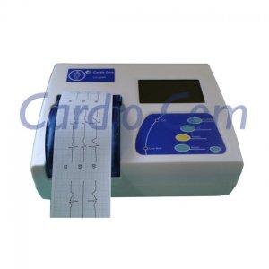 Electrocardiógrafo Veterinario de 3 Canales CardioCom Compacto CC12DerSP3 VET