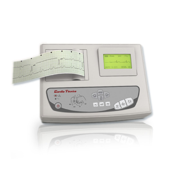 Electrocardiografo Veterinario 1 Canal Cardiotecnica RG501VET