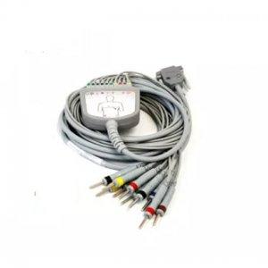 Cable Paciente de electrocardiografia de 10 terminales DB15 Macho Estandar Compatible Cardiotecnica Edan Innomed Mindray