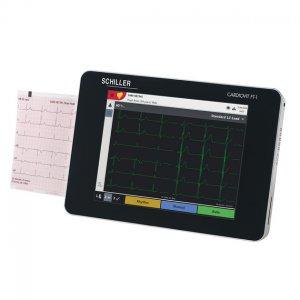 Electrocardiógrafo Tactil Wifi 6 Canales c/Diagnostico Schiller Cardiovit FT-1