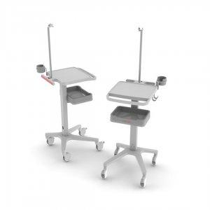 Carro mesa de Transporte para Electrocardiografo Schiller