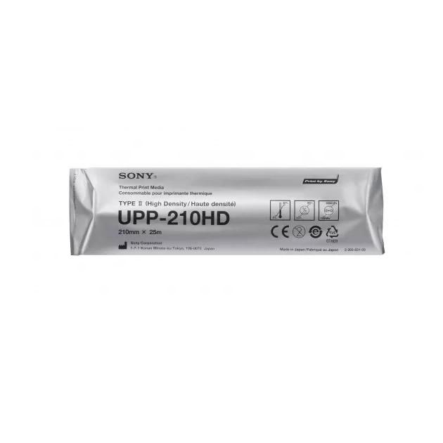 Papel Para Impresión Térmica en Blanco Negro Sony Upp-210hd