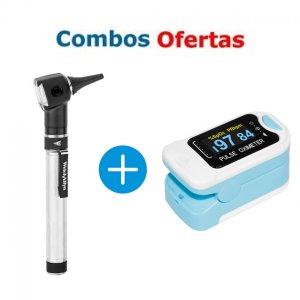Combo Otoscopio Welch Allyn + Oximetro Contec CMS50N