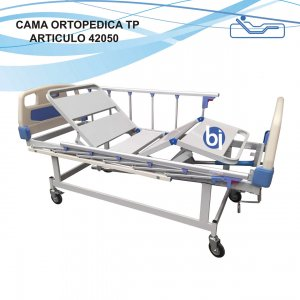 Cama Ortopedica 4 Planos Modelo TP Manual
