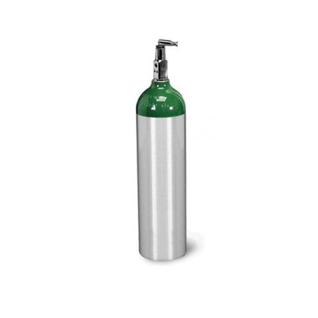 Tubo de Alumino de Oxigeno O2 Medicinal