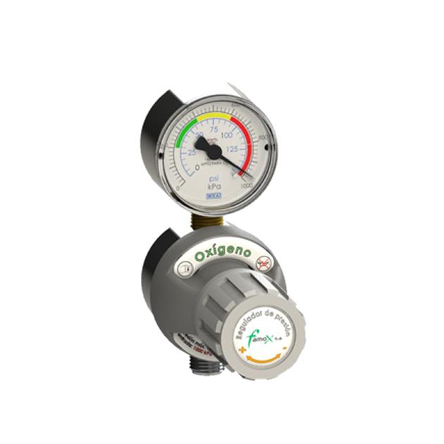 Regulador de Baja presion p/Gas Medicinal PRB