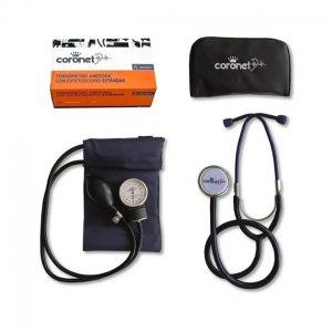 Tensiometro Adulto Coronet HS-50A c/estetoscopio y estuche